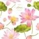 Lotus Realistic Illustration - GraphicRiver Item for Sale