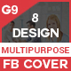 Facebook Cover Bundle (Vol - 8) - 8 Design - GraphicRiver Item for Sale