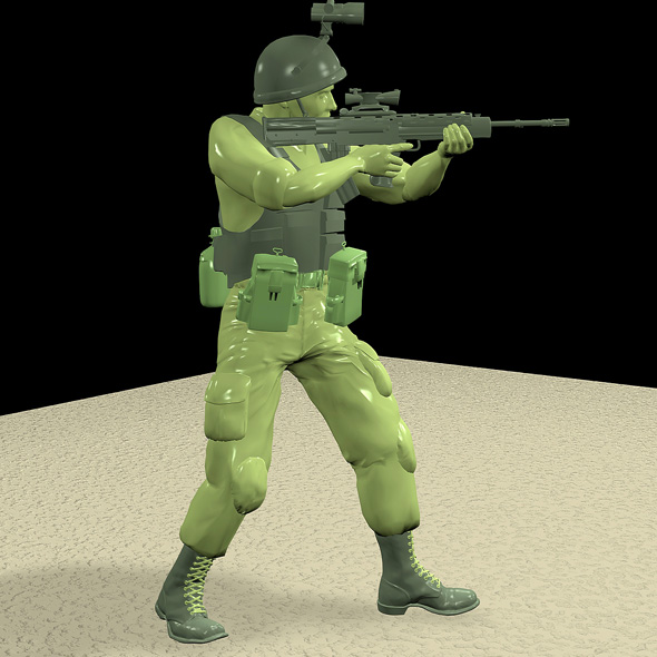 British Plastic Soldier - 3DOcean Item for Sale