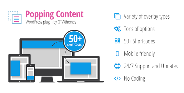 Popping Content for WordPress - CodeCanyon Item for Sale