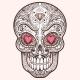 Mexican Sugar Skull - GraphicRiver Item for Sale