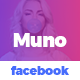 Muno - Facebook Post Social - GraphicRiver Item for Sale
