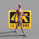 Human Body Muscle Map Walk Cycle - VideoHive Item for Sale