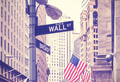 Wall Street and Broad Street signs, New York City, USA. - PhotoDune Item for Sale