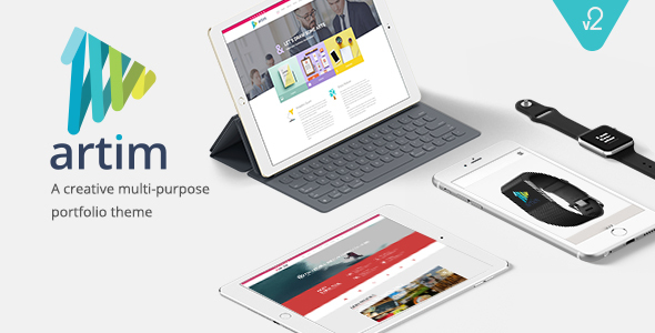 Artim Responsive Multi-Purpose Theme - Business Corporate