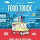 Food Truck Flyer - GraphicRiver Item for Sale