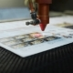 Cnc Laser Cutting Machine at Work. Acrylic Plastic Cutting. - VideoHive Item for Sale