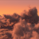 Above The Sunset Clouds - VideoHive Item for Sale