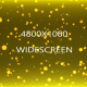 Gold Particles Wall Widescreen
