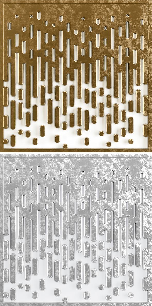 3D Raindrop Panel - 3DOcean Item for Sale