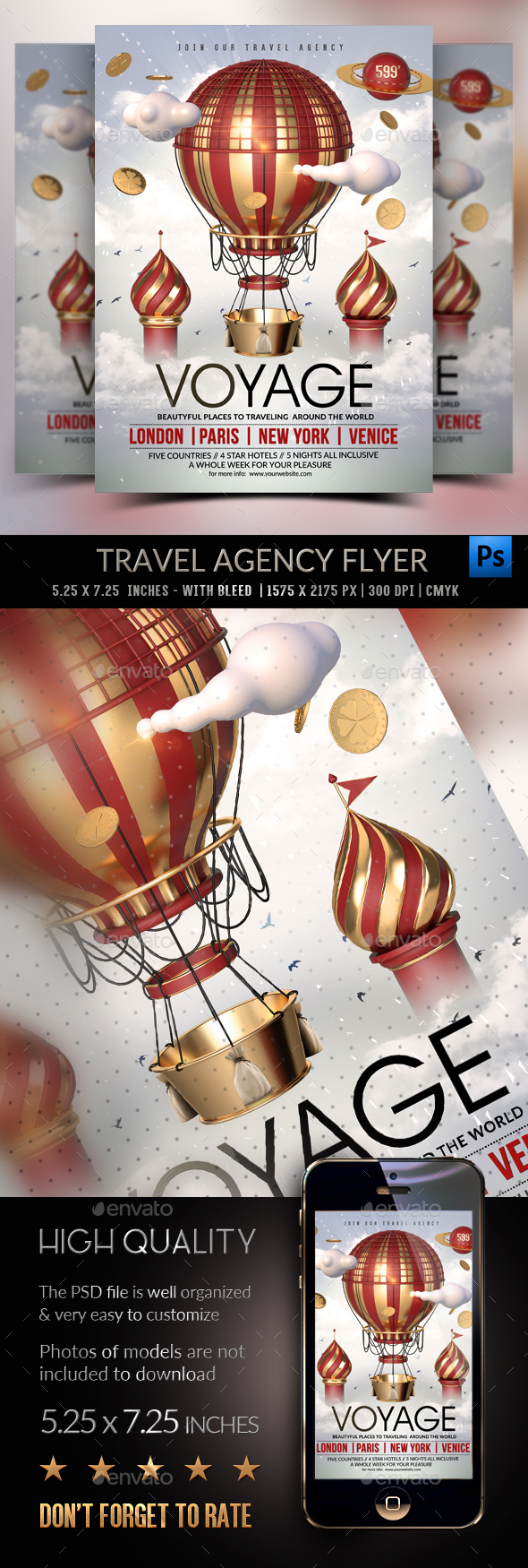 Voyage - Travel Agency Template - Holidays Events