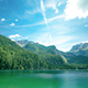 Lake and Mountains Landscape - VideoHive Item for Sale