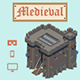 Low Poly Medieval - 3DOcean Item for Sale
