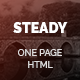 Steady - One Page Multi-Purpose HTML Template - ThemeForest Item for Sale