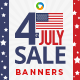 Fourth of July Banners - Images Included - GraphicRiver Item for Sale