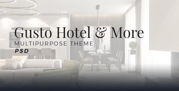 Gusto Hotel - Multipurpose - Creative PSD Templates
