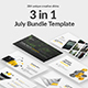 July Bundle Powerpoint Template Nulled