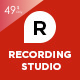 Recording Studio WordPress Theme - DJ / Producer / Music / Soundtrack / Artist / Entertainment - ThemeForest Item for Sale