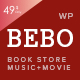 BEBO - Book Issue CD/DVD Store Publish Library WP Nulled