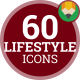Daily Routine Action Lifestyle - Flat Animated Icons and Elements