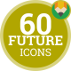 Technology Hi Tech Future Digital Concept - Flat Animated Icons and Elements