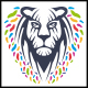 Colorful Lion Logo - GraphicRiver Item for Sale
