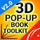 Download 3D Pop-Up Book Toolkit featuring Mister Cake | Toolkit & Story Construction Set from VideHive
