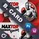 Boxing School Business Card Templates - GraphicRiver Item for Sale