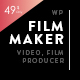 FilmMaker WordPress Theme: Film Studio - Movie Production - Video Blogger - Creative Agency - ThemeForest Item for Sale