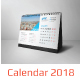 Desk Calender 2018 - GraphicRiver Item for Sale