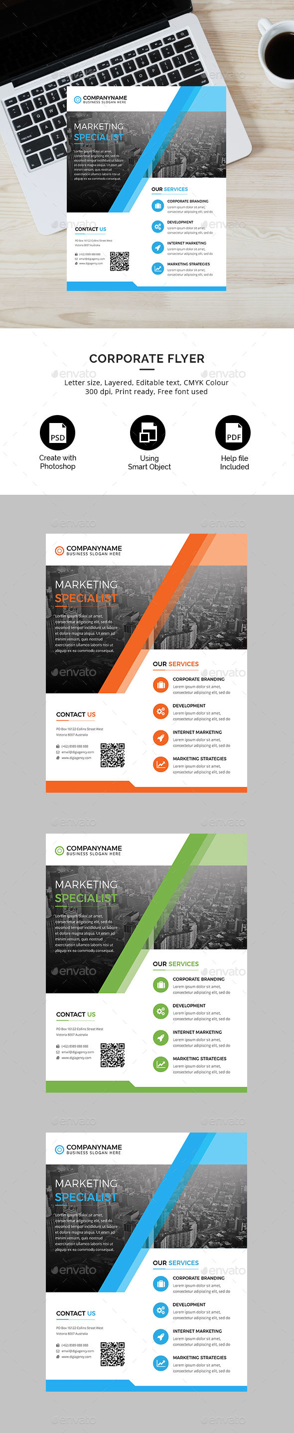 Business Corporate Flyer - Corporate Flyers