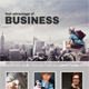 Corporate Business Poster Template V25