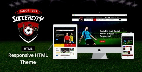 Sports - Soccer & Sports HTML Template