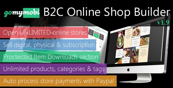 gomymobiBSB: eCommerce - B2C Business Website & Online Store Builder - CodeCanyon Item for Sale
