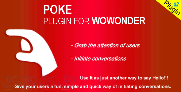 Plugin Poke For Wowonder - CodeCanyon Item for Sale