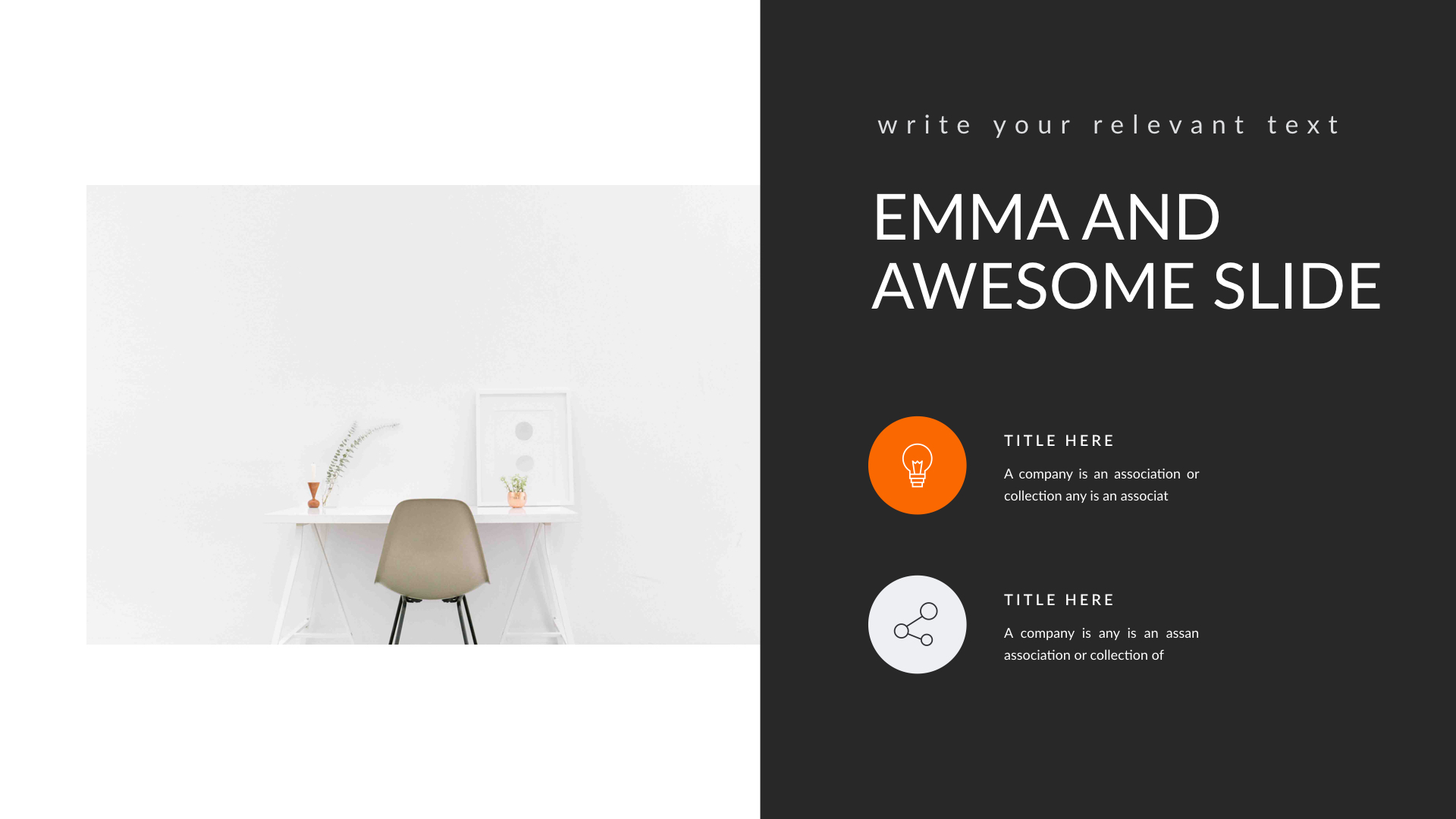EMMA - Multipurpose PowerPoint Template (V.40) by Shafura | GraphicRiver