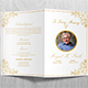 Funeral Program Template V01 - GraphicRiver Item for Sale
