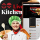 Livekitchen | Restaurant Cafe WordPress Theme Nulled