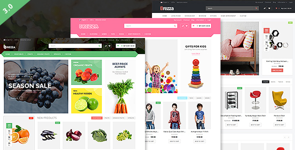 Brezza - Fruit Store Multipurpose WooCommerce WordPress Theme