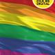Rainbow Flag 4K