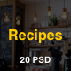 Recipes - Blog for your recipes - ThemeForest Item for Sale