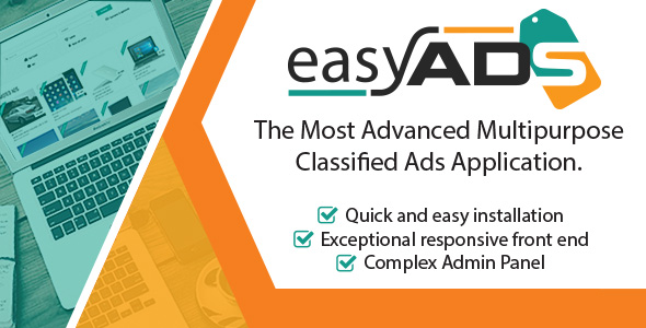 EasyAds – Complex Classified Ads Application (PHP Scripts) images