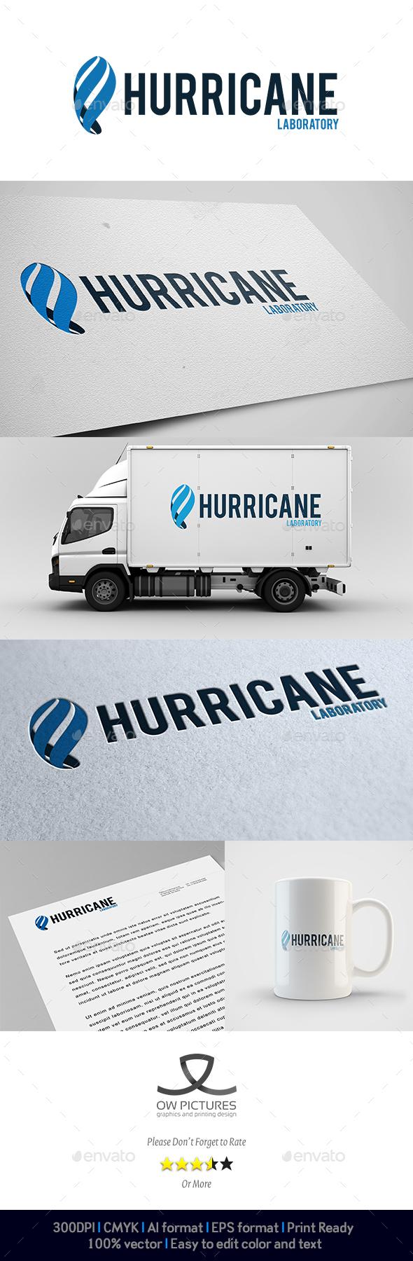 Hurricane Logo - Abstract Logo Templates