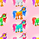 Set of Unicorns - GraphicRiver Item for Sale