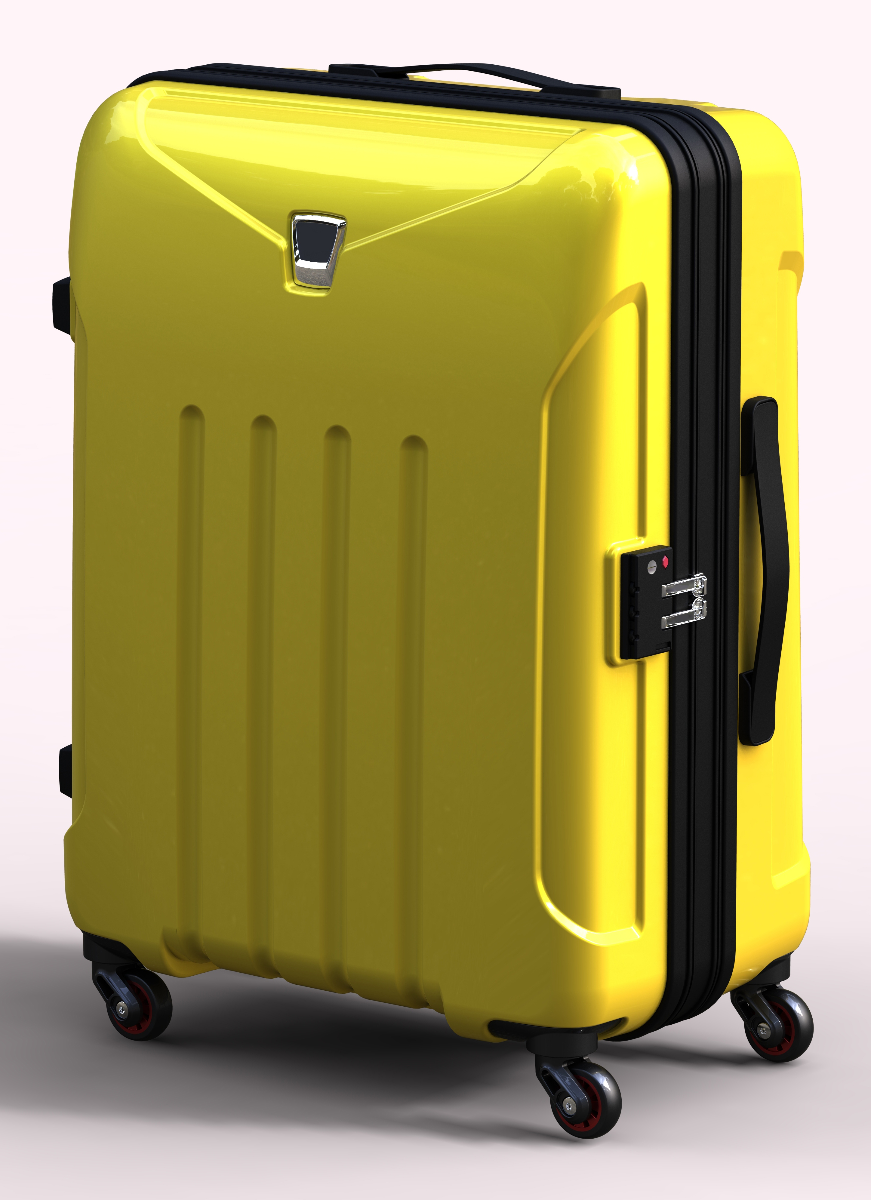 8580b66e8 Polycarbonate Trolley Luggage by 3DElement