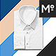 The Men Folded Dress Shirt Mock-up - GraphicRiver Item for Sale