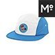 Strapback  Cap / Camp Hat  Mock-up - GraphicRiver Item for Sale