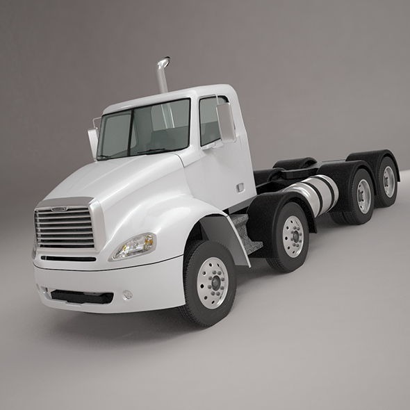 Freightliner Columbia base 4-Axle 2017 - 3DOcean Item for Sale