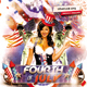 Fourth of July Celebration Day Flyer
