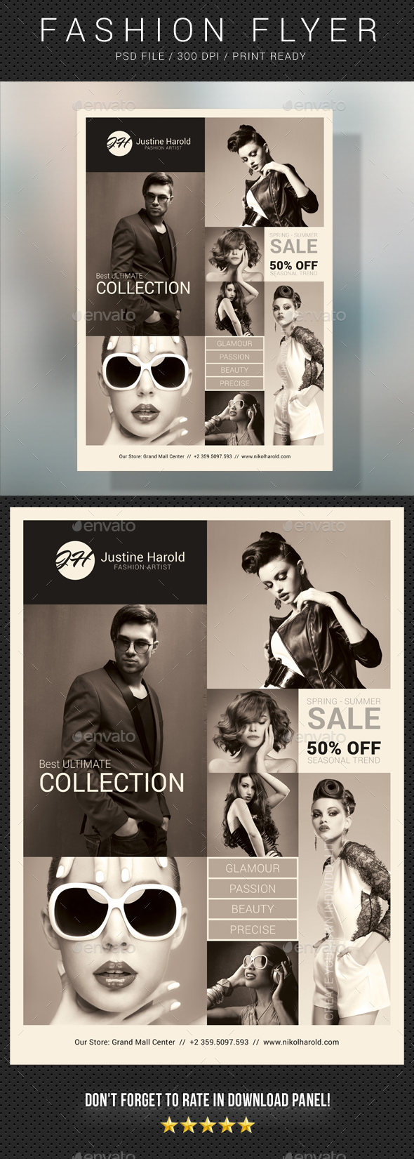 Fashion Flyer 05 - Commerce Flyers
